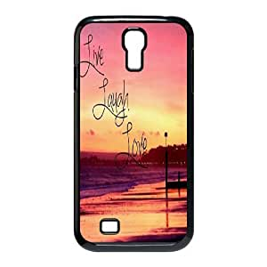 Live Laugh Love Use Your Own Image Phone Case for SamSung Galaxy S4 I9500,customized case cover ygtg576038 by runtopwell