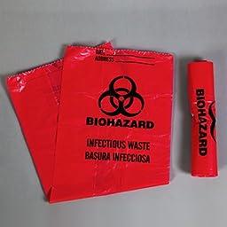 DSS Biohazard Bag, 5 Gal.
