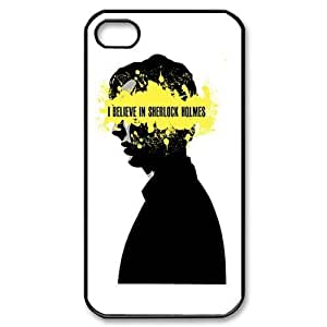 Popular I Believe In Sherlock Holmes New Style Durable Iphone 4,4s Case Hard iPhone Cover Case by heywan