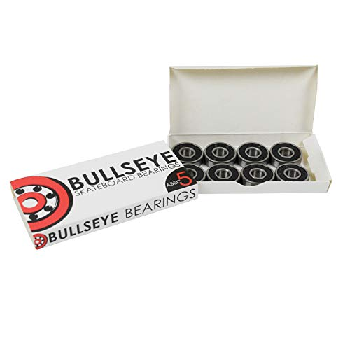 (Bullseye Bearings ABEC 5 Skateboard Bearings)