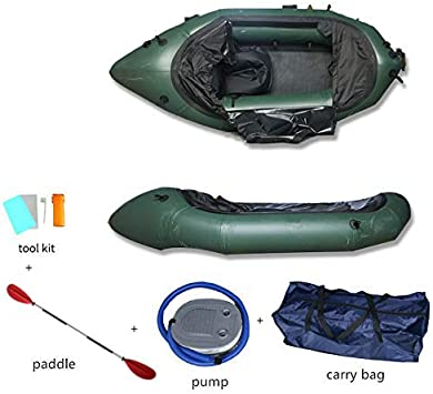 Amazon.com: Darget - Kayak hinchable de 35.4 x 39.0 in con ...