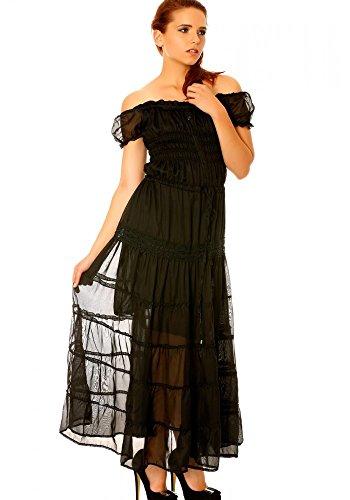 dmarkevous - Vestido - para mujer negro