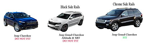 2011 2017 Jeep Grand Cherokee Crossbars Roof Luggage Racks