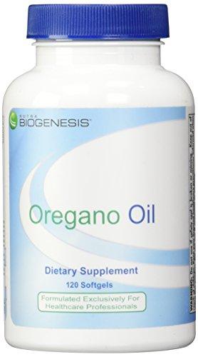 Oregano Oil 120 Cap (BioGenesis Oregano Oil Capsules, 120 Count)