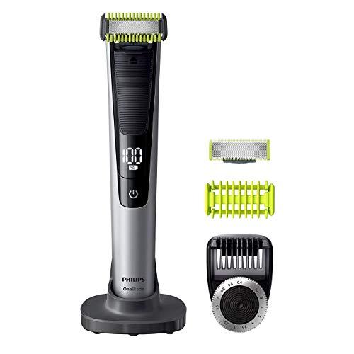 Philips QP6620/30 OneBlade Pro Cara y Cuerpo - Recortador de Barba Recargable con Peine