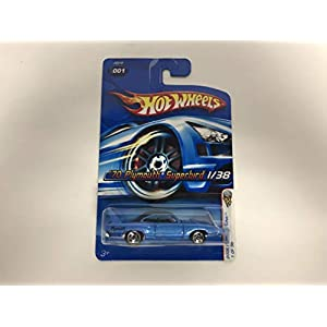 '70 Plymouth Superbird No. 001 (Blue Paint) 2006 Hot Wheels First Edition diecast 1/64 scale