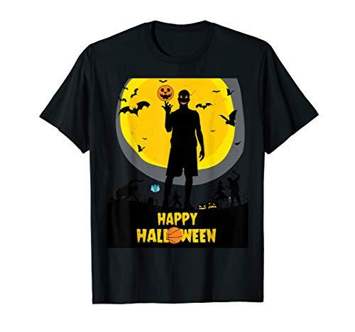 happy halloween basketball evil player for halloween