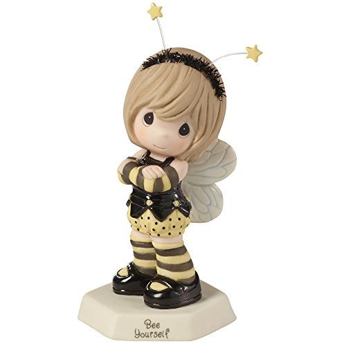 Precious Moments, Bee Yourself Bisque Porcelain Figurine, 153018, bee gifts