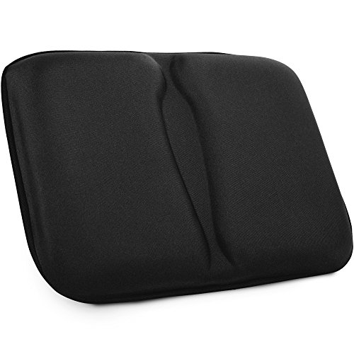 Extra Comfortable Rowing Seat Pad - Seat Cushion for Recumbent Bike – Soft and Sturdy Stationary Bike Seat Cushion – Extra Large Bike Seat Padded Cover Suitable for Rowing Machine Recumbent Bicycle Seat