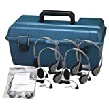 Hamilton Buhl Lab Pack, 30 MS2L Personal Headphones in a Carry Case