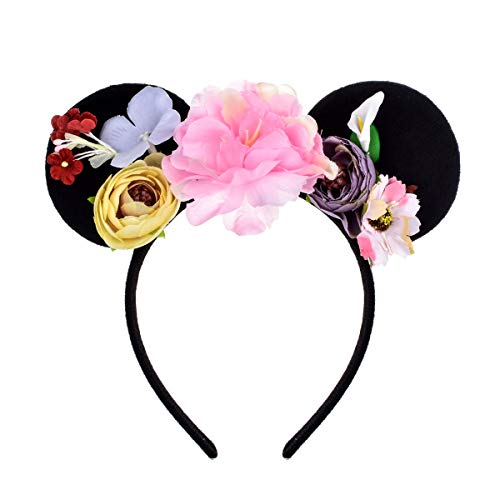Different Minnie Mouse Costumes - A Miaow Flower Headband Unicorn Headpiece