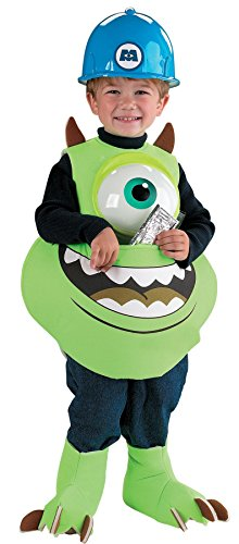 Mike Candy Catcher Toddler Costume - Toddler Large - Mike Wazowski Baby Halloween Costume