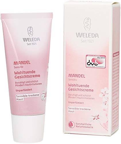 ((3 Pack) - Weleda Almond Smoothing Facial Cream | 30ml | 3 Pack - Super Saver - Save Money)