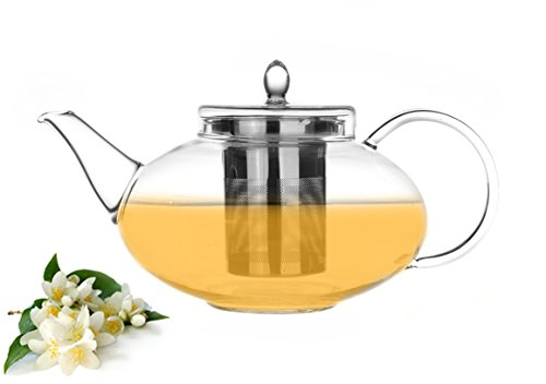 Drip Teapot (Tea Beyond Teapot Harmony with Whole Leaf Jasmine Green Tea)