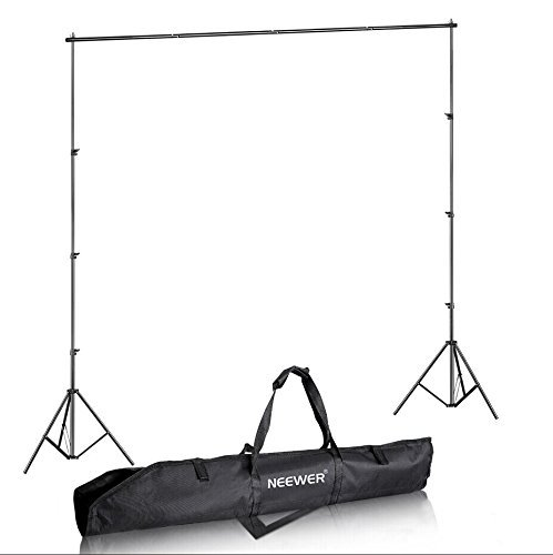 Neewer 8.5ft x 10 ft/2.6M x 3M Photography Video Studio Background Backdrop Support System Stand with Carrying Case by Neewer
