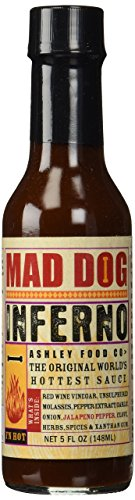 Mad Dog Inferno Hot Sauce 5 oz