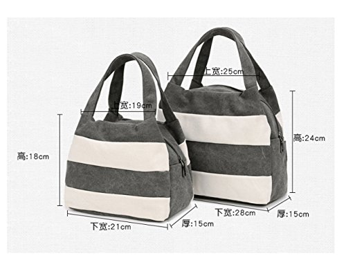 Canvas capacity Bag Messenger Comfortable Backpack Travel Bag Large Ladies Handbag Grey FLHT Student Mom Shoulder Casual Fashion Handbag UCS5Hwq
