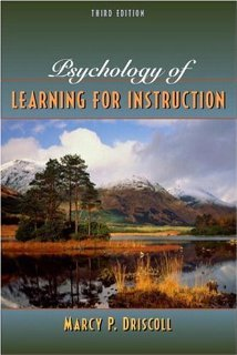 Psychology of Learning for Instruction (3rd Edition) [Hardcover] [2004] 3 Ed. Marcy P. Driscoll