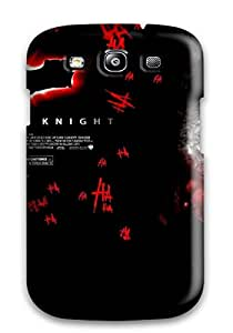 Hot Snap-on The Dark Knight Entertainment Movies Action Thriller Comic Joker Batman Fiction People Movie Hard Cover Case/ Protective Case For Galaxy S3
