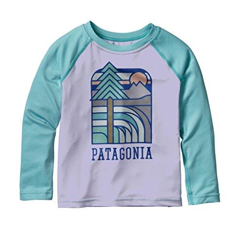 Price comparison product image Patagonia Capilene Silkweight Crew - Baby's Lite Ploy Purple 2T