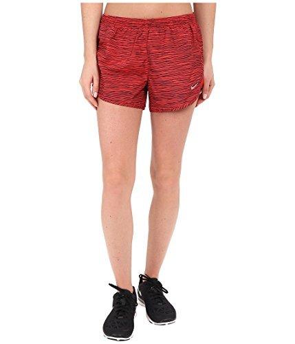 Nike Womens Equilibrium Modern Tempo Running Short Light Crimson/Light Crimson/Reflective Silver Shorts XL X 3