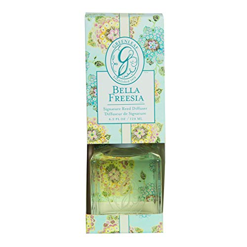 Signature Freesia Scent - Bella Freesia Greenleaf Signature Reed Diffuser