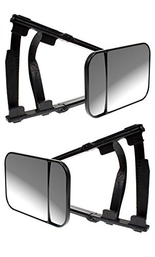 Ford Kuga Caravan Trailer Extension Towing Dual Mirror Glass Convex Pair Wing Mirrors World