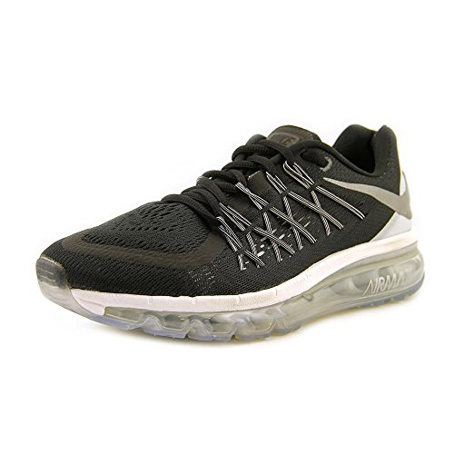 best authentic d7e71 90452 Galleon - Nike Women s Air Max 2015 Running Sneakers Shoes-Black Reflective  Silver-5