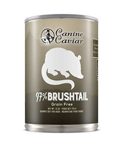 Canine Caviar Pet Foods Inc. 97% Brushtail, (13 Oz Cans) 12 In A Case
