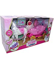 Feibi Doll with Horse for Girls