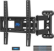 Mounting Dream TV Mount Full Motion with Perfect Center Design for 26-55 Inch LED, LCD, OLED Flat Screen TV, TV Wall...