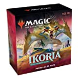 MTG Magic The Gathering Ikoria Booster Prerelease Pack Set Kit - Box of 6 Packs + More