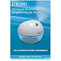 Refill Wicks for Homedics Personal Humidifier Model HUM-CM10 - Pack with 6 Replacement Wicks