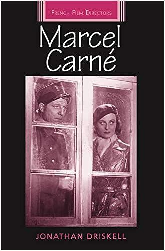 Amazon.com: Marcel Carné (French Film Directors Series