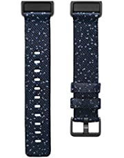 Fitbit FB168WBNVBKL Charge 4, Woven Band, Midnight