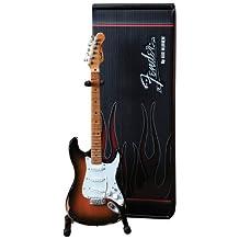 Axe Heaven FS-001 Fender Stratocaster Classic Sunburst Finish Miniature Guitar
