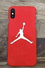 Toxdi Air Man Logo iPhone X/XS Funda, Carcasa Silicona Protector Anti-Choque Ultra-Delgado Anti-arañazos Case Caso para Teléfono iPhone X/XS (Rojo)