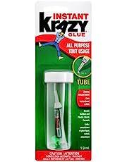 Krazy Glue All-Purpose Original Instant Glue, 1.9ml Tube (6155010100)