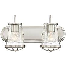 Designers Fountain 87002-SP Light Bath Bar