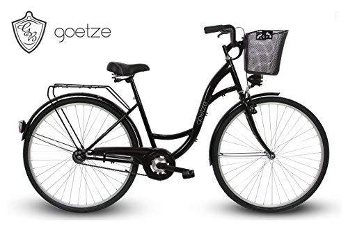 GOETZE 28″ 1B Classic Eco ,Fahrrad, Citybikes, Stadtrad Retro Vintage Schwarz