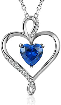 Caperci .925 Sterling Silver Heart Pendant Necklace