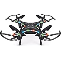 Littleice X13D Mini Drone 2.4GHz 4CH Led Remote RC Quadcopter 3D Rollover Christmas Gift (Black)