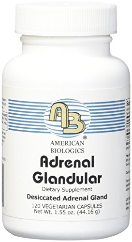 American Biologics Adrenal Glandular capsules 120 Count by AMERICAN BIOLOGICS