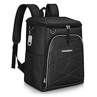 PENGDA Cool Bag Rucksack - 29 Cans Insulated Backpack Large Capacity Lightweight Waterproof Cooler Bags for Camping… 7