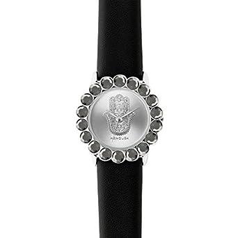 Zeigt Damen Manoush Stahl Silver 32 mm mshscgr