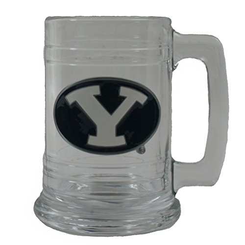 - Great American Products Byu Cougars 16oz Glass Tankard
