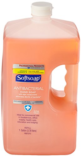 Softsoap Antibacterial Hand Soap, Crisp Clean Scent, 1 Gallon Refill - Martin Lavatory