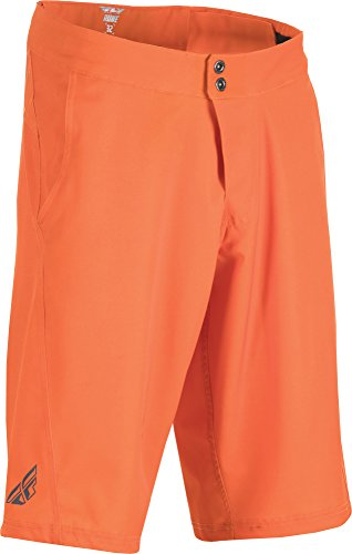 Fly Racing Unisex-Adult Rune Shorts (Orange, Size 34) by Fly Racing
