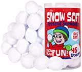 Narwhal Novelties Snow Soft; Snowball Fights in The Living Room; Fake Snow, Snowballs