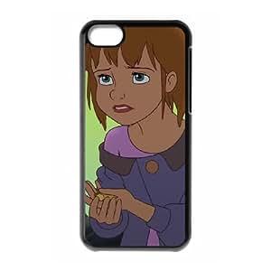 iPhone 5c Cell Phone Case Black Disney Return to Never Land Character Jane 007 YWU9248121KSL